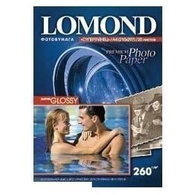 Бумага Lomond A4 260г/м2 20л.,cуперглянцевая (1103101)