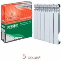 Фото CN-EV Радиатор биметаллический EVOLUTION EvB500 5 секции. Интернет-магазин Vseinet.ru Пенза