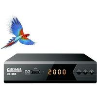 Ресивер эфирный цифровой DVB-T2 HD HD-300 металл, дисплей DOLBY DIGITAL, Сигнал. Интернет-магазин Vseinet.ru Пенза