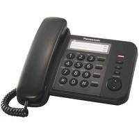 Телефон Panasonic KX-TS2352RUB чёрный. Интернет-магазин Vseinet.ru Пенза