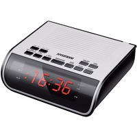 Радиобудильник Hyundai H-RCL100 белый LED подсв:красная часы:цифровые FM. Интернет-магазин Vseinet.ru Пенза