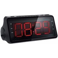 Радиобудильник Hyundai H-RCL140 черный LED подсв:красная часы:цифровые AM/FM. Интернет-магазин Vseinet.ru Пенза