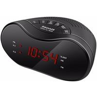 Радиобудильник Hyundai H-RCL160 черный LED подсв:красная часы:цифровые AM/FM. Интернет-магазин Vseinet.ru Пенза