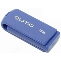 Флеш диск QUMO Twist USB Flash, 16Gb, USB 2.0, кобальт. Интернет-магазин Vseinet.ru Пенза