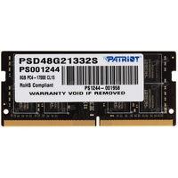 Модуль памяти  Patriot Memory, DDR4, 8Гб, 2133МГц, 15-15-15 (PSD48G21332S). Интернет-магазин Vseinet.ru Пенза