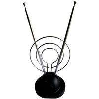 Антенна комнатная ДМВ+МВ с кольцом Эфир 618 усы 1м кабель 1м