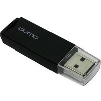 Память QUMO Pen Drive 32G USB 2.0 Tropic Black retail. Интернет-магазин Vseinet.ru Пенза