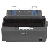 Принтер матричный Epson LX-350 черно-белый, A4, USB 2.0, серый. Интернет-магазин Vseinet.ru Пенза