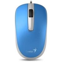 Мышь проводная Genius DX-110, USB, синяя. Интернет-магазин Vseinet.ru Пенза