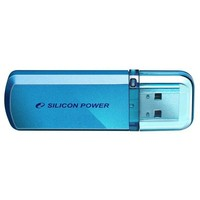 Флешка Silicon Power Helios  101  64Гб,  USB 2.0, голубая (SP064GBUF2101V1B). Интернет-магазин Vseinet.ru Пенза