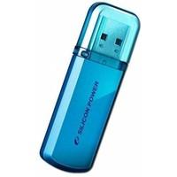 Флешка Silicon Power Helios  101  64Гб,  USB 2.0, голубая (SP064GBUF2101V1B). Интернет-магазин Vseinet.ru Пенза