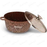 Кастрюля Kelli KL-4018-16, 1.6 л, темно-коричневый. Интернет-магазин Vseinet.ru Пенза
