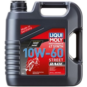 Моторное масло LiquiMoly 4Т 10W-60 Racing Synth SLW-МА-2, 4 л. Интернет-магазин Vseinet.ru Пенза
