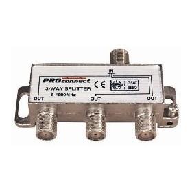 Делитель PROCONNECT (05-6022) ТВ краб х 3 под F разъём 5-1000 МГц