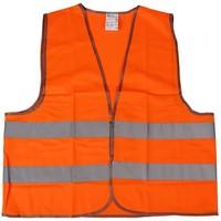 Жилет сигнальный TUNDRA basic, оранжевый, размер XXL, ГОСТ. Интернет-магазин Vseinet.ru Пенза