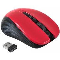 Мышь беспроводная Oklick 675MW, USB, черная с красным. Интернет-магазин Vseinet.ru Пенза