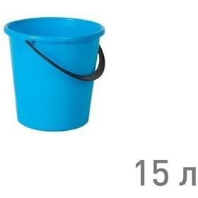 "Фото Ведро ""РОМАШКА"" 15 л ГОЛУБОЙ (г.Пятигорск). Интернет-магазин Vseinet.ru Пенза"