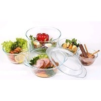 Набор посуды для СВЧ Helper 4544 / 6 предметов / Стекло. Интернет-магазин Vseinet.ru Пенза