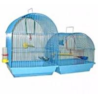 Зоомарк №420 Клетка д/птиц малая полукруглая (комплект) 35*28*37. Интернет-магазин Vseinet.ru Пенза