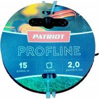 Леска для садовых триммеров Patriot Profline d=2.0мм L=15м (805402201). Интернет-магазин Vseinet.ru Пенза