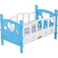 Кроватка 62048 сборная для кукол №2 (5 элементов) (в пакете) ПОЛЕСЬЕ. Интернет-магазин Vseinet.ru Пенза