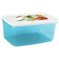 Контейнер для замораживания и хранения продуктов с декором ''Кристалл'' 1,3л арт.4311300 Бытпласт. Интернет-магазин Vseinet.ru Пенза
