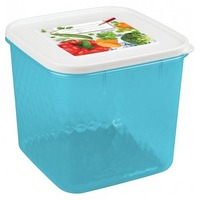 Контейнер для замораживания и хранения продуктов с декором ''Кристалл'' 1,8л арт.4311302 Бытпласт. Интернет-магазин Vseinet.ru Пенза