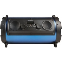 Минисистема Hyundai H-MC200 черный/синий 25Вт/FM/USB/BT/SD/MMC. Интернет-магазин Vseinet.ru Пенза