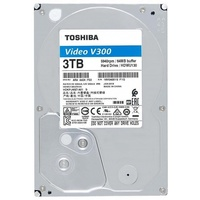 Фото Жесткий диск HDD Toshiba Video Streaming V300 HDWU130UZSVA, 3000Гб, SATA 6Gb/s, 64Мб. Интернет-магазин Vseinet.ru Пенза