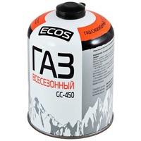 Фото Газ всесезонный т.м.ECOS в баллоне GC-450 (резьбовой EPI-GAS,450 г, Корея). Интернет-магазин Vseinet.ru Пенза