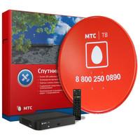 Комплект Спутникового ТВ (антенна 0,6м, 6 месяцев в подарок, до 195 каналов)