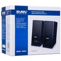 Активная акустика Sven SPS-604 / 2.0 / 90 - 20000 Гц / чёрный. Интернет-магазин Vseinet.ru Пенза
