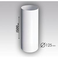 Воздуховод круглый ПВХ D125, L=1,5м (12,5ВП1.5). Интернет-магазин Vseinet.ru Пенза