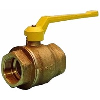 Фото Кран шаровый БАЗ 11Б27П ДУ-50 г/г для газа рычаг латунный. Интернет-магазин Vseinet.ru Пенза