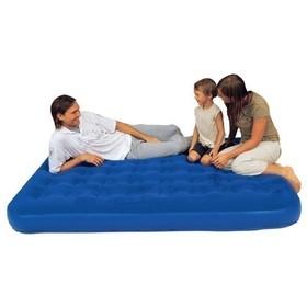 Кровать 67003N флокированная Queen 203x152x23см BESTWAY