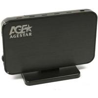 "Корпус внешний AgeStar 3UB2A8-6G usb3.0 to 2.5""hdd SATA (black). Интернет-магазин Vseinet.ru Пенза"
