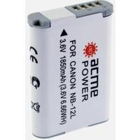 Фото Аккумулятор для компактных камер AcmePower AP-NB-12L для: Canon PowerShot N100/VIXIA mini X/G1X mark II/Legria mini X. Интернет-магазин Vseinet.ru Пенза