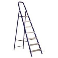 Лестница стремянка алюминиевая матовая 7 ступ. АЛЮМЕТ Ам707. Интернет-магазин Vseinet.ru Пенза