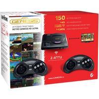 Фото Игровая консоль Sega Mega Drive HD Ultra черный в комплекте: 150 игр. Интернет-магазин Vseinet.ru Пенза