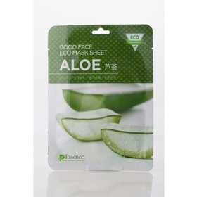 Маска с экстрактом алоэ Pascucci Good Face Eco Mask Sheet Aloe. Интернет-магазин Vseinet.ru Пенза