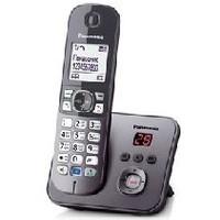 Радиотелефон Panasonic KX-TG6821RUM / 1 трубка / серый. Интернет-магазин Vseinet.ru Пенза