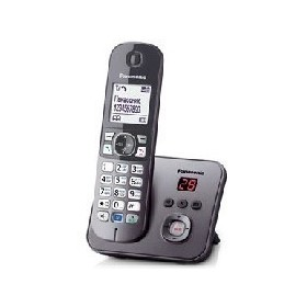 Фото Радиотелефон Panasonic KX-TG6821RUM / 1 трубка / серый. Интернет-магазин Vseinet.ru Пенза
