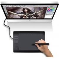 Фото Графический планшет Huion H1060P, USB, черный. Интернет-магазин Vseinet.ru Пенза