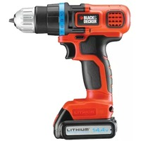 Дрель-шуруповерт Black & Decker EGBL14KB / 14.4 В /10 мм / 23 Нм / в кейсе. Интернет-магазин Vseinet.ru Пенза