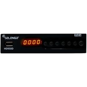 Купить ТВ приставка DVB-T2 Selenga HD950D (эфирное цифровое ТВ) в г.Пенза, цена в интернет-магазине Vseinet.ru