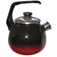 Чайник СтальЭмаль г.Череповец 4с209я черный с красным «Кармен». Интернет-магазин Vseinet.ru Пенза