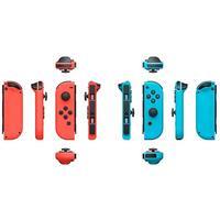 Фото Беспроводной контроллер Nintendo Joy-Con красный/синий для: Nintendo Switch (045496430566). Интернет-магазин Vseinet.ru Пенза