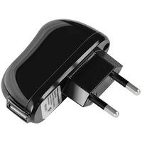 Сетевое зарядное устройство Deppa 23139, 5В, черное. Интернет-магазин Vseinet.ru Пенза