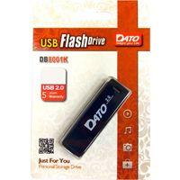 Флешка DATO DB8001 16Гб,  USB 2.0, черная (DB8001K-16G)