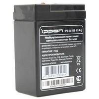 Батарея Ippon IP6-4.5 6V/4.5AH. Интернет-магазин Vseinet.ru Пенза